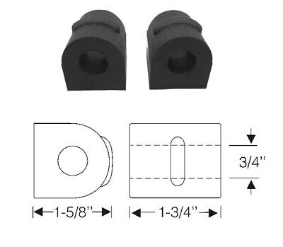 1941 1942 1946 1947 1948 Cadillac (See Details)Front Stabilizer Bar Bushing 1 Pr for sale  Shipping to Canada