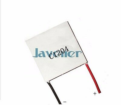 Thermoelectric Generator C1204  Seebeck Power Generation Element 12V 4A 40x40mm