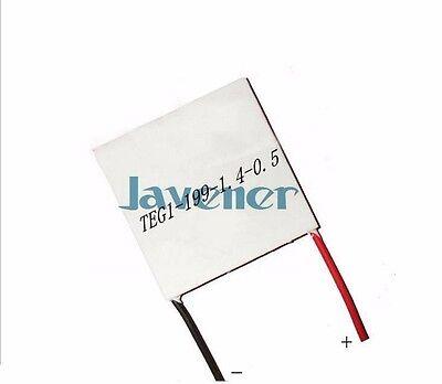 12v 15a Heatsink Thermoelectric Peltier Power Generation Plate Teg1-199-1.4-0.5