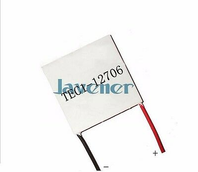 50x50mm 12v 6a Tec1-12706 Heatsink Thermoelectric Cooler Peltier Cooling Plates