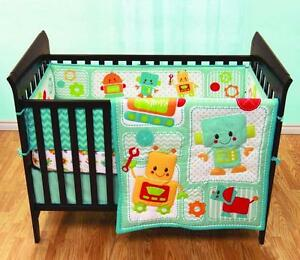 Baby's First by Nemcor 3-Piece Crib Bedding Set