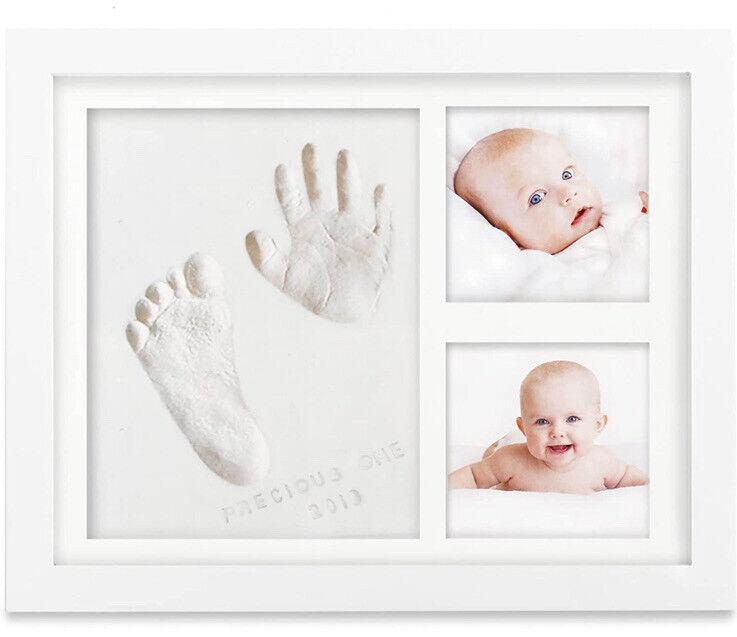 Little Hippo Baby Handprint Kit Baby Picture Frame Inspiration Awaits Open Box