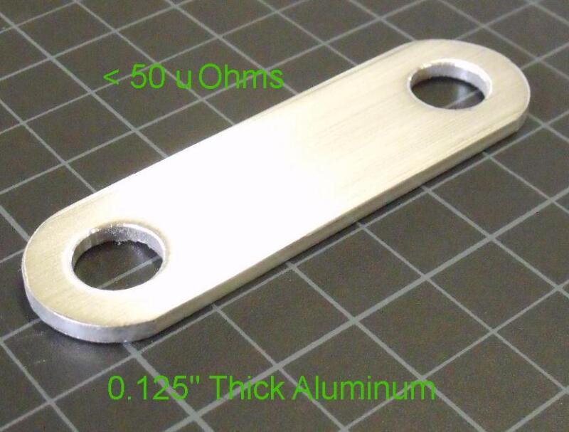 Low-Z Strap for Maxwell Super Farad Ultra Capacitor BCAP P270 K04, < 50uOhm