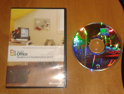 Used, Microsoft Office 2003 – Student and Teacher Edition for the PC inc. Word, Excel for sale  Shipping to South Africa