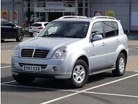 *NEW SHAPE* Rexton II 2.7 SX AWD same as Mercedes ML 270 M Class 4x4 Jeep, volvo xc90, land rover