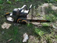 McCulloch 360T chainsaw (needs new chain)