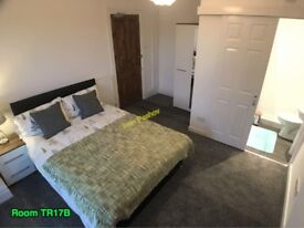 Brand New ** En Suite ** Double Room • Mature House • Free On Street Parking • Fibre WiFi