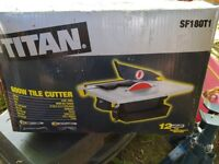 Titan Tile Cutter (USED ONCE)
