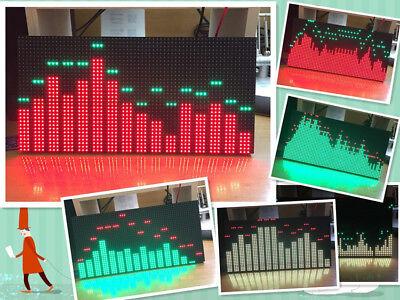 Ms3264 Led Music Audio Spectrum Level Display Screen Indicator Vu Meter 6 Modes