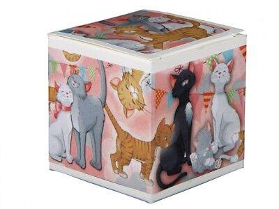 """Tierstimmendose Katzendose """"Lustige Katze"""" im Geschenkkarton Tierstimmen Dose"""
