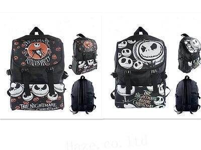 Nightmare Before Christmas Jack Skellington Backpack Schoolbag