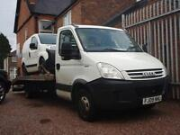 IVECO DAILY 35C15 4100 XLWB Recovery Truck (white) 2009