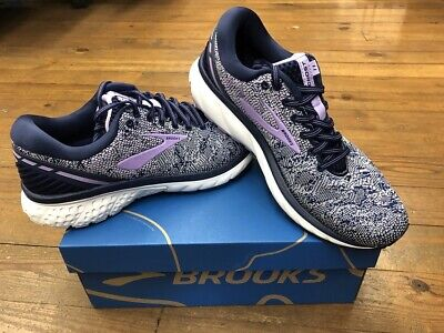 Brooks Ghost 11 Womens Running Shoes Navy/Grey/Purple  multiple sizes New In Box