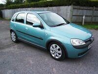2003 Vauxhall Corsa 1.2 SXI 5 Door Hatchback Lady Owner Full Service History