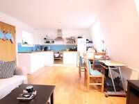 A VERY LARGE 1 BEDROOM TERRACED PENTHOUSE APARTMENT IN MAIDA VALE