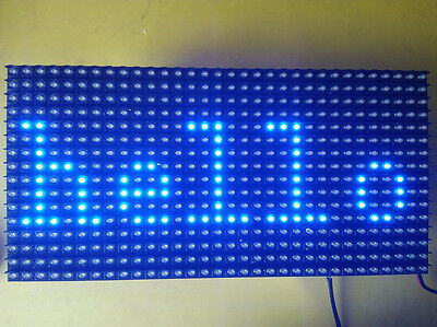 Blue Led Display P10 Dot Matrix Module Sign 16x32 Promotion