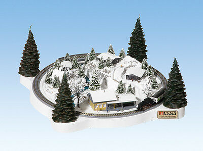NOCH 88060 Z Scale Winter Christmas Train Layout *USA Dealer* Marklin $0 SHIP! for sale  Irvine