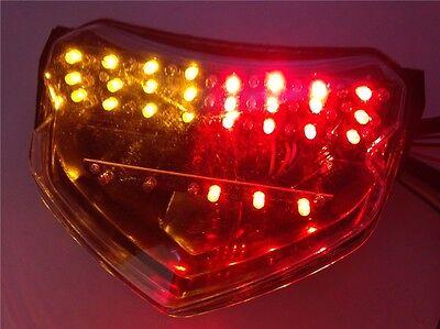 Aftermarket Tail Light Red Brake w/ Turn Signal For 2005 Suzuki GSXR 600 750