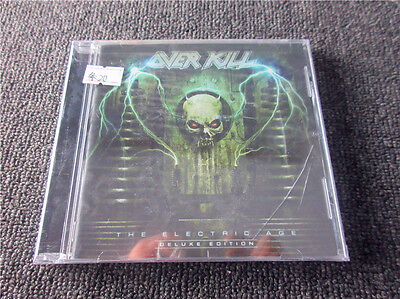 Overkill  Electric Age Deluxe Limited Bonusedition  New Sealed Thrash Metal