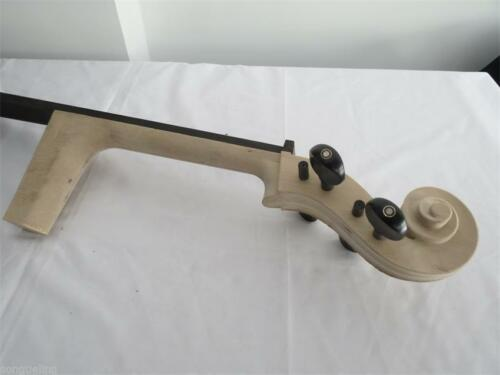 cello part: maple wood white Cello neck 4/4 with 4pcs ebony pegs and fingeboard