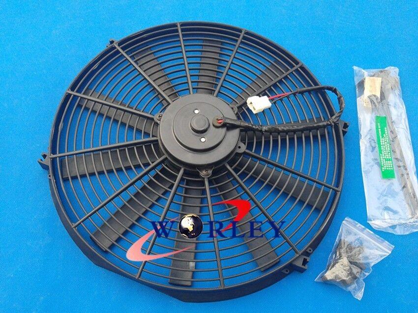 "mounting kit new 1x14/"" Universal Electric Radiator RACING COOLING Fan"