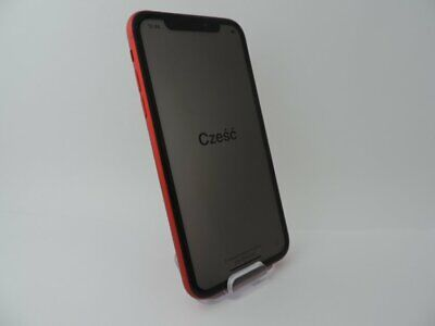 """Apple iPhone XR A2105 Mobile Smartphone 12MP 6.1"""" IOS 64GB Red Unlocked~~"""