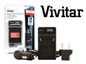 VIVITAR Battery Charger AC/DC  For Canon CA-900 CA-910,CA-920