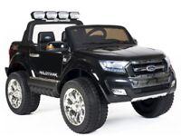 BRAND NEW - Ford Ranger Wildtrak 2017 4WD - Licensed 24v Electric Ride on Jeep - Black