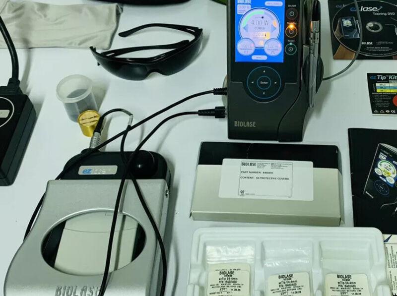 BIOLASE EZLASE 940 Dental Laser Power System +Whitening Hand Piece+