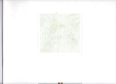 JAGUAR XJ6 & SOVEREIGN 3.2 4.0 & V12 PRESTIGE VERY OVERSIZED SALES BROCHURE 1992