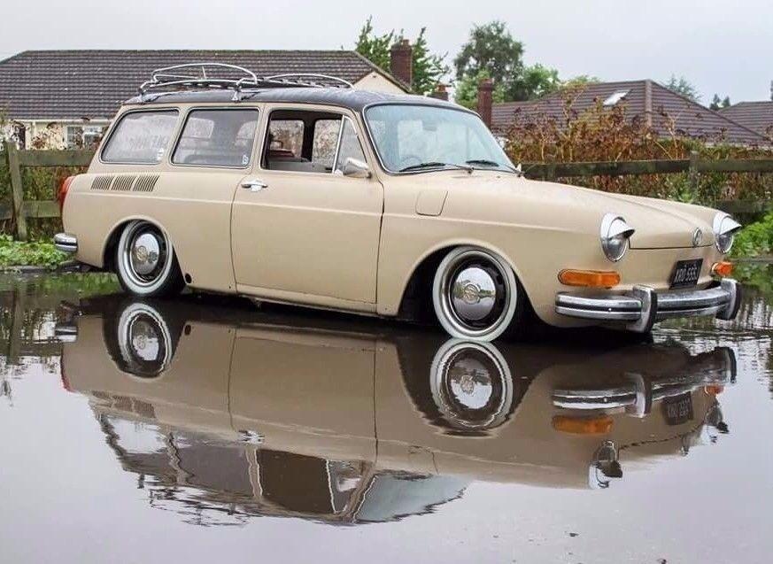 VW Squareback type 3 estate variant beetle bay splitscreen volkswagen retro