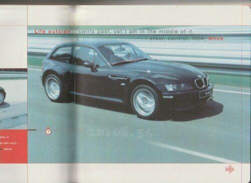 1997 BMW E36/8 M COUPE 44p Prestige Brochure in Slipcase