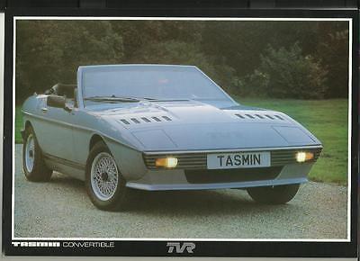 TVR TASMIN  CONVERTIBLE SALES  'BROCHURE' SHEET 1982