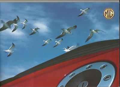 MG ROVER 1.8i, 1.8i STEPTRONIC AND 1.8i VVC SALES BROCHURE 'PORTFOLIO' 2000