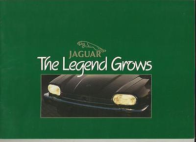 JAGUAR  XJ-S H.E.  XJ-SC 3.6 CABRIOLET AND  COUPE SALES BROCHURE FEBRUARY  1984