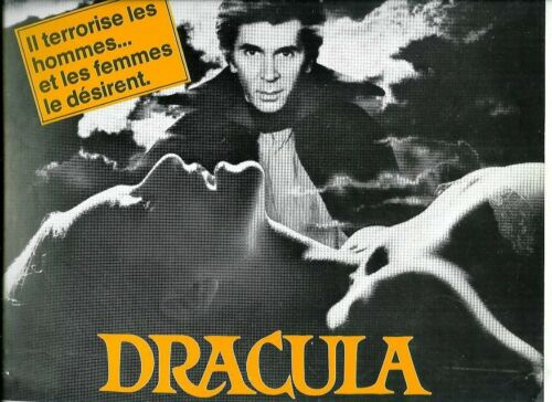 FANTASTIC VAMPYR / FRANK LANGELLA french Pressbook DRACULA