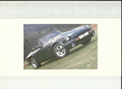 TVR V8S SALES BROCHURE LATE 1980's