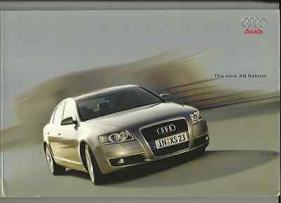 AUDI A6 2.4,3.2FSI,3.2 FSI QUATTRO,4.2 QUATTRO,3.0TDI QUATTRO BROCHURE MAR. 2004
