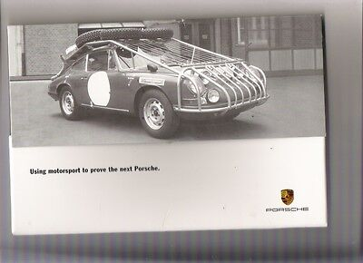 Unusual PORSCHE CAYENNE INTRODUCTORY Brochure jm