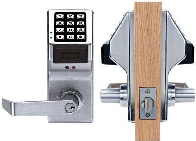 B /& Q Polished Chrome Door Handle 10cm x 3.5cm