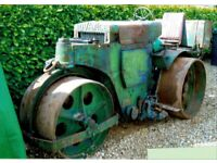 1963 Wallis & Steevens Diesel Roller