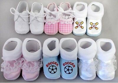 Baby Goods:   Boys & Girls  Shoes. Size: 0 - 6 Months 12 Pairs Lot ( E01402BS)