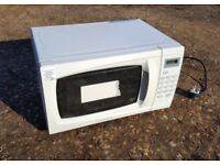 Microwave Oven High Powered 1100W by Cookworks with Instructions