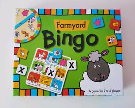 Farmyard Bingo Game