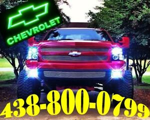 CHEVROLET TRUCK HEADLIGHTS CAMION SUV LED LIGHTS HID XENON KIT