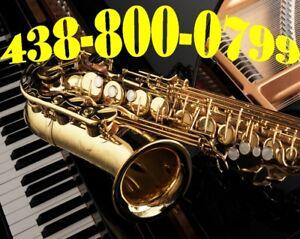 Beau Saxophone Tenor et Soprano et Alto Neuf Couleur au Choix