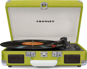 Crosley Cruiser Deluxe Vintage Turntable with Bluetooth 3 speed