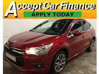 Citroen DS4 1.6HDi ( 115bhp ) DStyle FROM £36 PER WEEK!