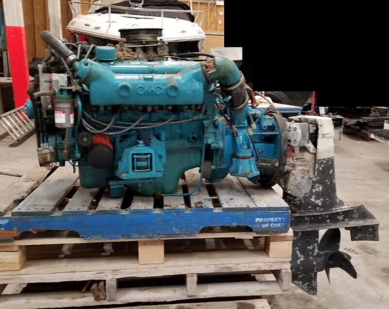 351 Ford Marine Engine and OMC Outdrive