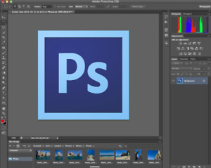 Photoshop CS6 for sale for Mac or PC